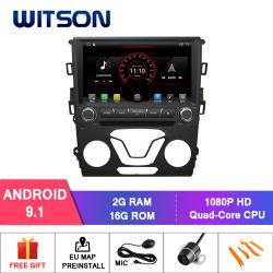 Четырехъядерные процессоры Witson Android 9.0 DVD-плеер для автомобиля Ford Mondeo 2013 Capactive 1024*600