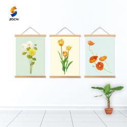 La decoración del hogar Resumen Oleo Lienzo Giclee Print arte de pared flores de Sun.
