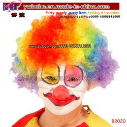 Partie perruque afro Clown cadeaux coiffure Yiwu China Express perruque perruque de cheveux de ventilateurs (B2020)