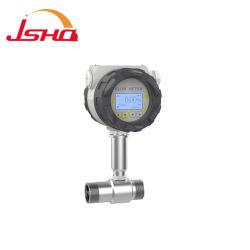 Digital Micro-turbine de type de compteur de débit de l'eau du pétrole brut