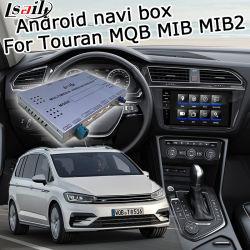 Lsailt Android GPS Navigationssystem für VW Touran, Passat usw. Mqb Mib2 Video Interface Upgrade Touch Navigation, WiFi, Bt, Mirrorlink, HD 1080P