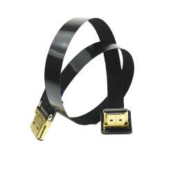 Piso blando FFC Fpv Cable HDMI macho conector macho recto estándar HDMI a HDMI estándar