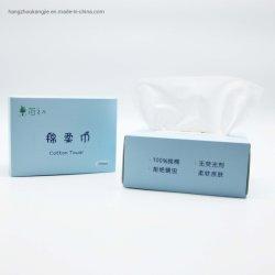 China Factory Nonwoven seco toalha de rosto seco e em dupla utilização de toalhetes de Bebé Desmaquilhagem os toalhetes absorventes e macio tecido natural