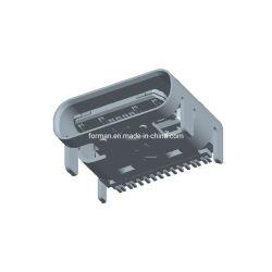 Conector Micro USB TIPO B SMT Fêmea de macaco 16pinos conectores de solda do soquete da placa PCB DE TOMADA DE CARGA