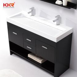 Nous Kingkonree styles différents de surface de conception solide de la vanité Salle de Bain lavabo