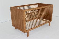 Madeira de bambu mobiliário para bebé Bebé Trenó Berço