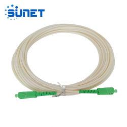 Односторонняя Дуплексный одномодовый многомодовый оптоволоконный перемычку с LC/SC/FC/St/E2000 разъем