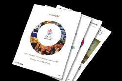 Stampa novella del catalogo dell'opuscolo del libro di Hardcover di servizio del documento del catalogo dello scomparto