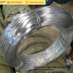 Alambre de hierro galvanizado de 14G planos de fabricación de cable de enlace