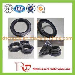 NBR FKM Tc Tb Tcv Tcn Tto tres retenes de aceite hidráulico resistentes al calor de labio/rosca exterior resistente a la corrosión de la junta de goma Auto Parts