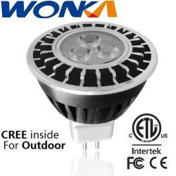مصباح LED بديل قابل للتخفيت MR16 بقوة 5 واط بتقنية الإضاءة الخارجية