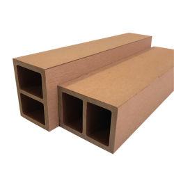 La madera de exterior Baranda compuesto de plástico / 60*40mm WPC puesto barandillas