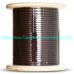ISO-9001 plana esmaltadas Cable bobinado de aluminio para transformador