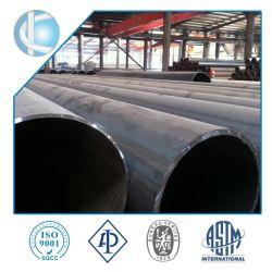 Tubi d'acciaio dell'accatastamento del tubo d'acciaio di ASTM A252 LSAW ERW SSAW