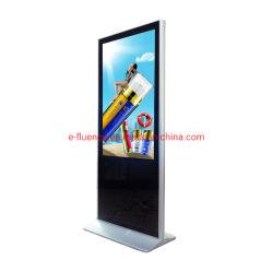 """43-65 """" LCD Dispay, de Waterdichte Signage van de Kiosk LED/LCD van de Speler van de Reclame Uiterst dunne Digitale Vertoning, WiFi en 4G de Opties van de Reclame van de Kiosk van het Scherm van de Aanraking"""