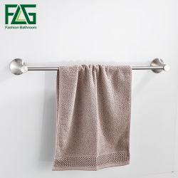 Flg accesorios de baño Toalla de acero inoxidable titular solo toallero