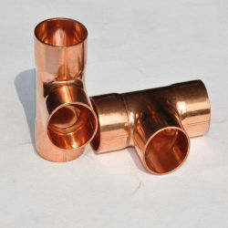Kupfernes Großhandelst-Stück, das passendes Klimaanlagen-Rohrleitung-Zusatzgerät verringert