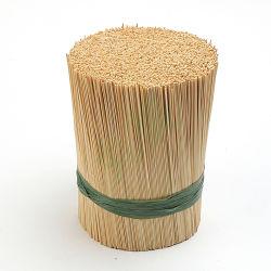 Venda por grosso de incenso Diâmetro 1.3mm natural de bambu Moso descartáveis Stick