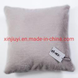 Mejor Venta de Color sólido Faux Fur lana visón almohadas/cojines (019-145D)