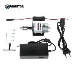 Zubehör für die Montage elektrischer Bohrer mit hoher Präzision (High Torque 24V Motor, JTO Chuck, Klemme, Netzadapter, T-Schlüssel, Draht)