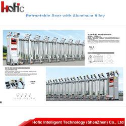 Electric automatique porte pliante coulissante en acier inoxydable/Gate