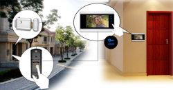 WiFi intelligente videotürklingel-Gegensprechanlage mit 7 '' Türklingel-Kamera-inländisches Wertpapier-dem Satz der Bildschirmanzeige-720p Ahd Fernsteuerungs