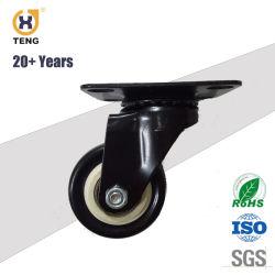 La mi-Light Duty double roulement à billes PP PVC Roulette pivotante/réfrigérateur roues pivotantes/pivot durable