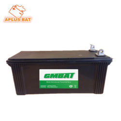 Mf свинцово-кислотного аккумулятора автомобиля для хранения 12V120ah с PE сепаратора