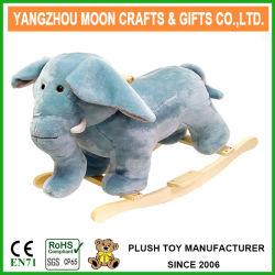 Ride sur les enfants jouet en peluche Rocking Horse de l'éléphant
