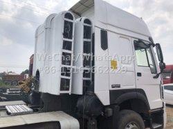 Trattori a gas HOWO GNC/GNL prodotti in Cina 375HP 420HP 10 pneumatici per il mercato dell'Uzbekistan
