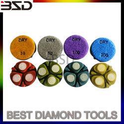 4 polegada 100mm pastilhas de resina de polimento de diamantes vínculo de cerâmica de granito e mármore