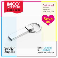 Imee Grosso Logotipo personalizado imprimindo ODM OEM USB Disk Chaveiro Branco Notebook itens promocionais