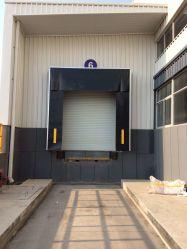 Riparo ritrattabile registrabile del bacino del sigillo alla porta della guarnizione del bacino del baldacchino della baia del contenitore di caricamento di logistica del magazzino di conservazione frigorifera del PVC del poliestere della tenda meccanica del tessuto