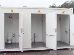 Estrutura de aço leve contentor House toalete/banheiro/lavatório para venda