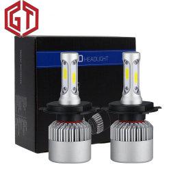 Lampe de tête de gros d'éclairage automatique s/n 72W 8500 Lumens 6500K H7 H11 H4 S2 Voiture Voiture de lumière LED LAMPE PHARE