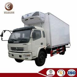 6tonsフリーザーの容器シーフードの輸送のための冷やされていた貨物トラックを冷却する小さい6トン