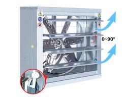 空気ブロアのファン温室か太陽動力を与えられた大規模な換気扇のアルミニウム商業換気装置