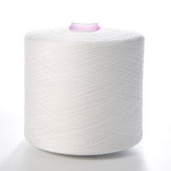 Filato di poliestere da cucire bianco grezzo 42s/2, filo di plastica 1.667 kg