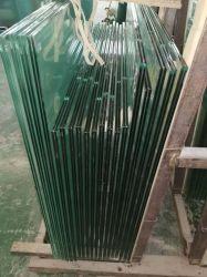 Закаленное стекло лист Цена низкая плоской кривой изгиба панели на двери душ