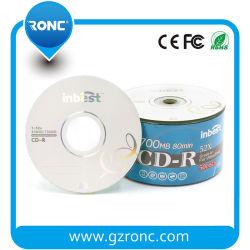 CD-R in bianco del grado a+ Quatity di prezzi di promozione con la marca di Ronc