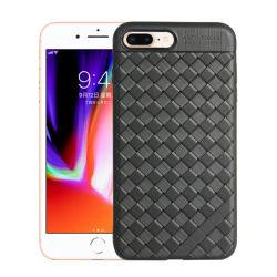 Het Weven van BV de Gevallen van de Telefoon van de Vezel van de Koolstof voor iPhone 8 plus