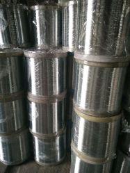 Piso de alambre galvanizado de barrido, limpieza de alambre de acero de bola