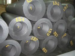 Graphitelektroden mit Nippeln für Stahlproduktion