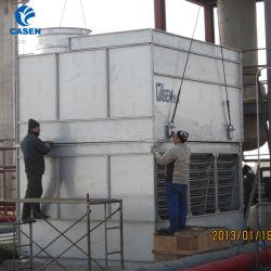 Industrieel systeem van koeltorens met gesloten circuit voor dwarsstroom van staal