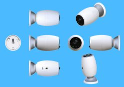 Hogar inteligente Cámara Interior CCTV digital seguridad inteligente cámara X1 Cámara IP WiFi