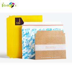 L'impression personnalisée Expédition Mailer sac papier carton rigide de l'Enveloppe Enveloppe postale