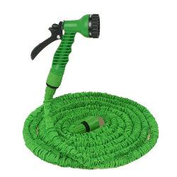유연한 확장식 정원 워터 호스 파이프, 7가지 기능 포함 25FT 가정용 스프레이 건/파티오/차량용 청소