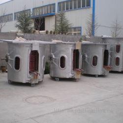 Elektrische inductieoven met gemiddelde frequentie voor het smelten van staal