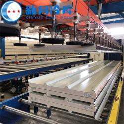 Aluminiumstahlpolystyren-Panel der zwischenlage-Panel-strukturelles Isolierkühlraum-thermische Wärme-flaches Isolierungs-ENV für Wand-und Dach-kühler Raum-Zwischenlage-Vorstand