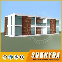 현대 디자인을%s 가진 쉬운 접근 가능한 환경 장식적인 조립식 살아있는 집